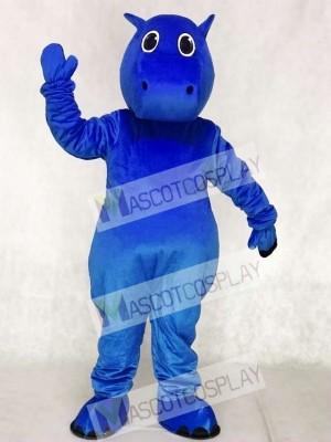 Blaues Baby Nilpferd Maskottchen Kostüme Tier