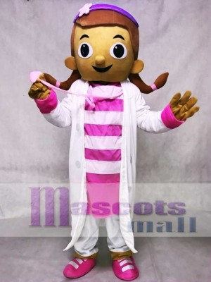 Doc McStuffins Doktor Dottie Maskottchen Kostüm Karikatur