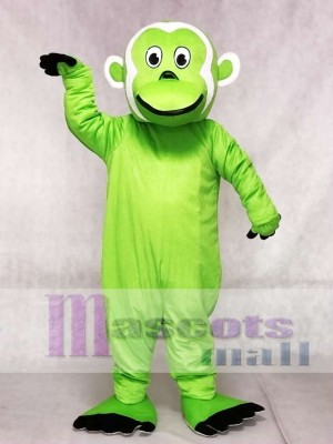 Grüner bärtiger Affe Maskottchen Kostüme Tier
