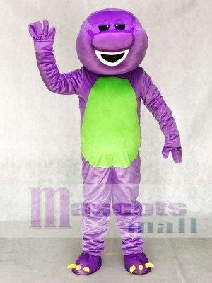Lila Barney Dinosaurier Maskottchen Kostüm Tier