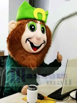Kobold Kopf nur Maskottchen Kostüm für St. Patricks Day