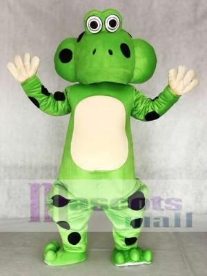 Frosch Skull Maskottchen Kostüm