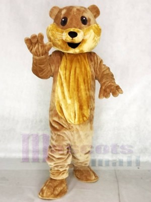 Niedliches Ollie Otter Maskottchen Kostüm Tier