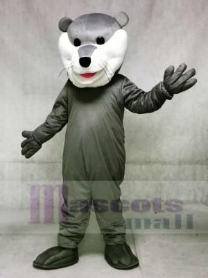 Grau Champion Otter Hockey Maskottchen Kostüme Tier