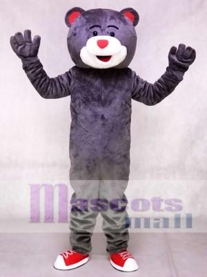 Graue Clutch das Bär Maskottchen Kostüm