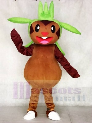 Chespin Pokemon Pokémon GO Maskottchen Kostüm Pocket Monster Grass Typ Chespie