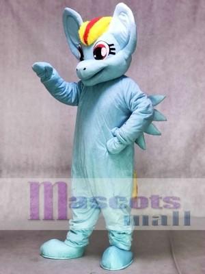 Mein kleines Pony Pferd Blau Rainbow Dash Maskottchen Kostüm