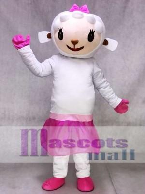 Rosa Kleid Schaf Lambie von Dr. Doc Mcstuffins Maskottchen Kostüm