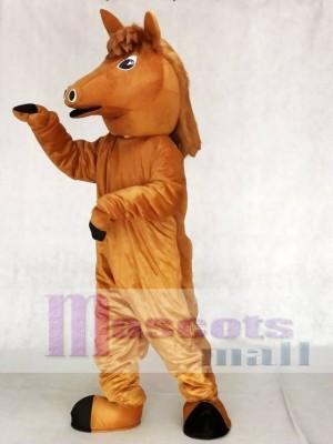 Nettes Pony Pferd Maskottchen Kostüme Tier