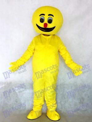 Gelb Boogie Mann Party Maskottchen Kostüm