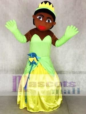 Afrikanische & Indische Prinzessin Maskottchen Kostüme Menschen