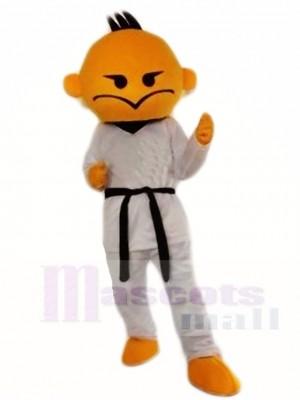 Kung Fu Taekwondo Junge Maskottchen Kostüme Menschen