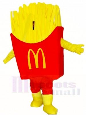Mcdonalds Mcdonalds Chips Pommes Frites gebratenes Maskottchen Kostüme Snacks Essen