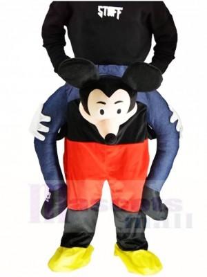 Piggy Back Micky Maus Carry Me Ride weiter Maskottchen Kostüme Halloween Weihnachten