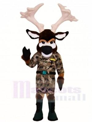 Elch im Kampf Fatigues Maskottchen Kostüme Tier