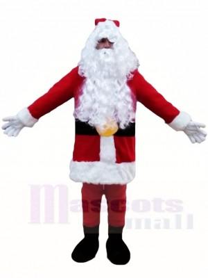 Santa Claus Father Christmas Xmas Mascot Costumes People