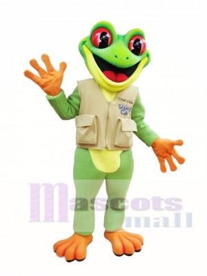 Baum Frosch Maskottchen Kostüm grüne Frosch Maskottchen Kostüme