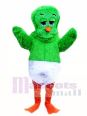 Grünes 80er Orville das Enten Maskottchen Kostüm Tier