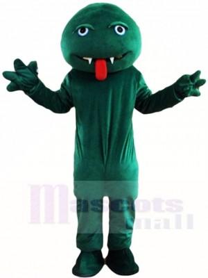 Grün Schlange Monster Maskottchen Kostüme Tier