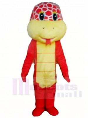 Rotes Kobra Schlange Maskottchen Kostüme Tier
