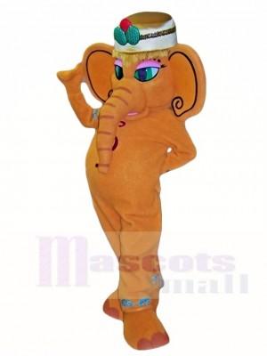 Brown Elephant Mascot Costumes Animal