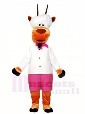 Cartoon Cook Schafe Maskottchen Kostüme Tier