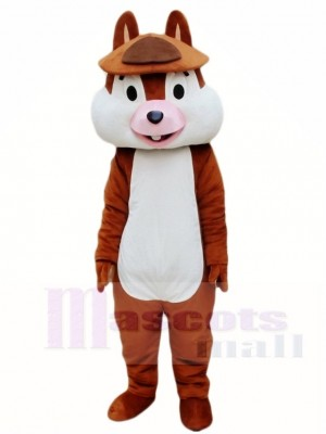 Ein Zahn Eichhörnchen Maskottchen Kostüme Tier