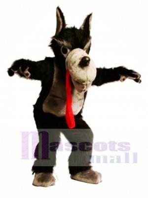 Nettes Wolf Maskottchen Kostüm