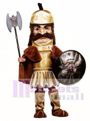 Trojanisches Krieger-Maskottchen-Kostüm (Schild und Axt nicht enthalten)
