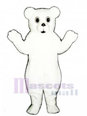 Snow Bear Cub Maskottchen Kostüm