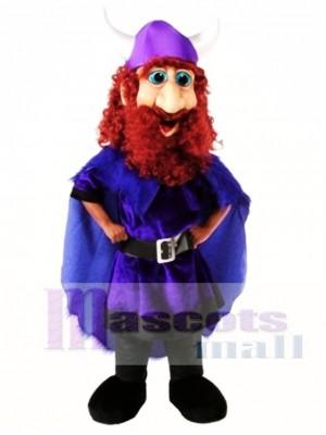 Freundliches Wikinger Maskottchen Kostüm