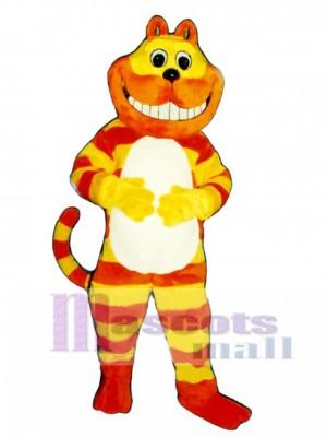 Niedlich Cheshire Katze Maskottchen Kostüm Tier