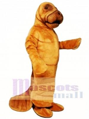 Niedlich Manni Manatis Maskottchen Kostüm Tier