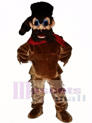 Grenzer Maskottchen Kostüm Menschen