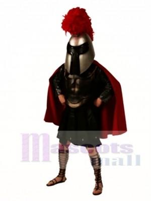 Krieger Maskottchen Kostüm