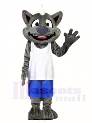 Grau Wolfie Sea Wolf Maskottchen Kostüme Tier