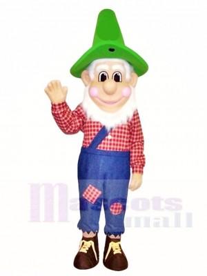 Vintage-aussehende Farmer Maskottchen Kostüme Menschen
