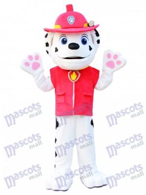 Marshall Paw Patrol Dalmatiner Hund Maskottchen Kostüm Cartoon Anime