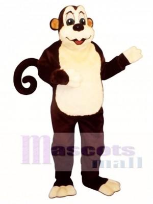 Zoo Affe mit Wired Tail Maskottchen Kostüm