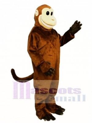 Lächelnd Affe Maskottchen Kostüm