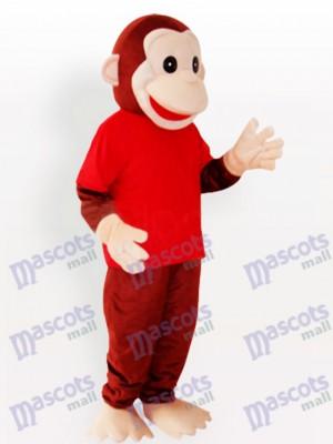 Glückliches Affe Tier lustiges Maskottchen Kostüm