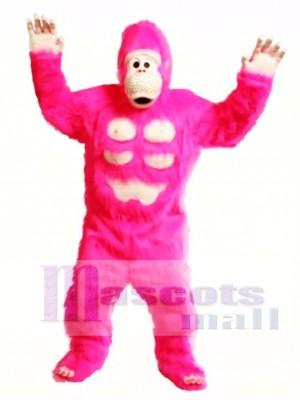 Niedlich Comic Gorilla Maskottchen Kostüm