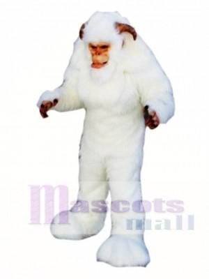 Yeti Maskottchen Kostüm