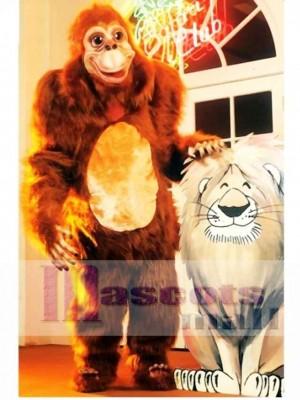 Niedlich Orang-Utan Maskottchen Kostüm