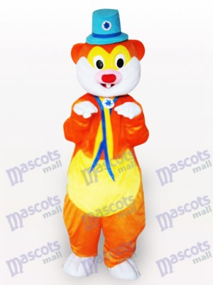 Blauer Hut Maus Tier Maskottchen Kostüm