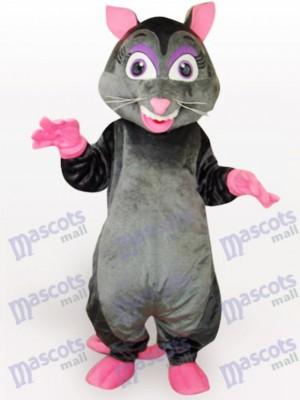 Schwarze Maus Tier Maskottchen Kostüm