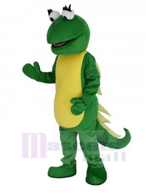 Iguana Isa Lizard Maskottchen Kostüm Dora Karikatur