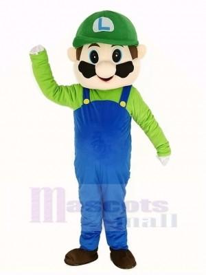 Super Grün Mario Maskottchen Kostüm Karikatur