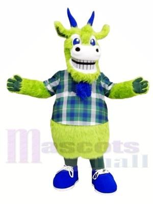 Grüne Ziege Maskottchen Kostüme