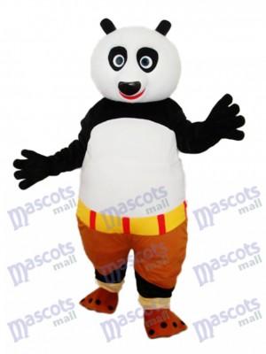 Kung Fu Panda Maskottchen Erwachsene Kostüm Tier